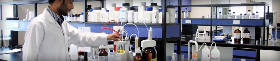 شركة كاد الشرق الأوسط للصناعات الدوائية - القدرات الكيمائية